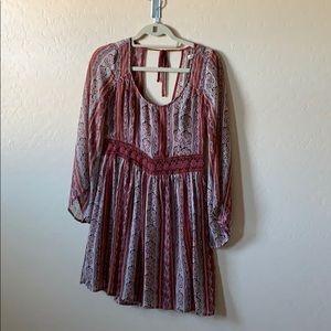 Hollister bohemian dress
